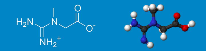 The chemical formula of creatine