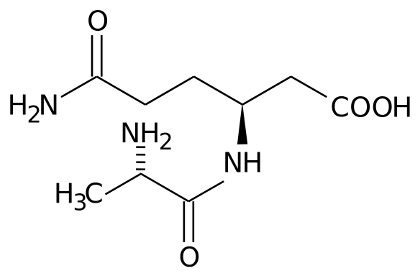 Chemical formula of sustamine