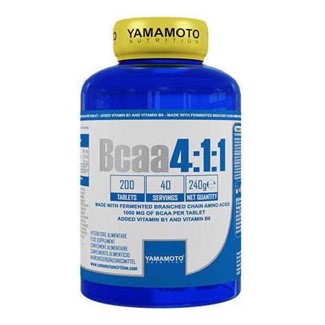 Yamamoto BCAA 4:1:1 200 cpr
