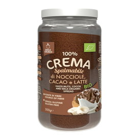 100% Organic Hazelnuts, Cocoa and Milk Cream