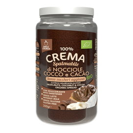 100% Hazelnut, Coconut and Cocoa Cream Bio
